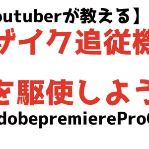 【初心者向け】Adobe premiereProCCでモザイク追従機能を駆使しよう!