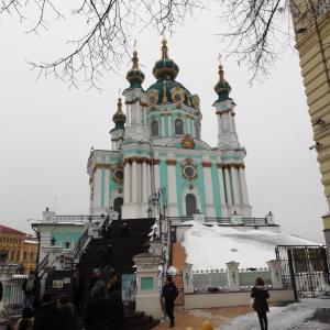 【ウクライナ】インスタ映え!?聖アンドレイ教会