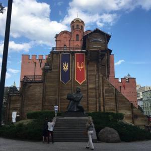 【ウクライナ】黄金の門