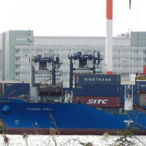 中国船社勢 再度のCIC値上げへ 2021年秋