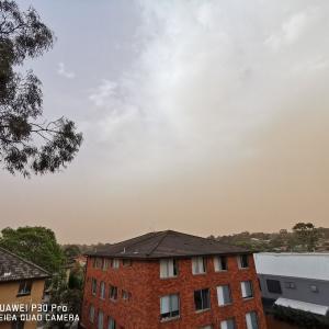 オーストラリアの山火事