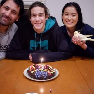 血のつながらない息子の誕生日と夫婦
