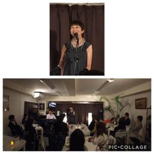 10月18日(金)は松実ちほ(vo)さんのライブでした!