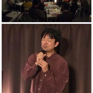 11月14日(木)は、リチャード岡田(vo)さんのライブでした!