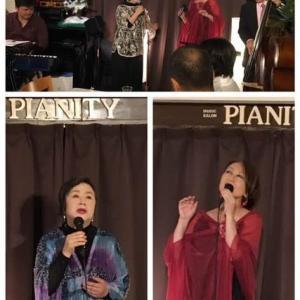 11月16日(土)の午後は、季史子&JUNきみ香さんのライブでした!
