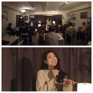 1月18日(土)の午後は、LiLi(vo)さんのライブでした!