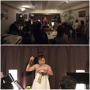1月18日(土)の夜は、佐藤美佳(vo)さんのライブでした!