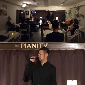 1月23日(木)の夜は石原幹雄(vo)さんのライブでした!