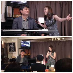 1月24日(金)の夜は、沖野ゆみ(vo)さんのライブでした!