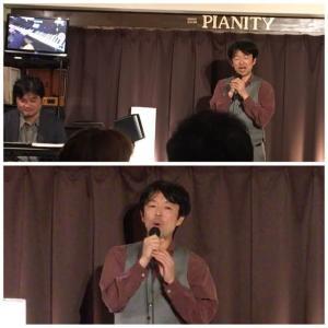 2月22日(木)の夜は、リチャード岡田(vo)さんのライブでした!