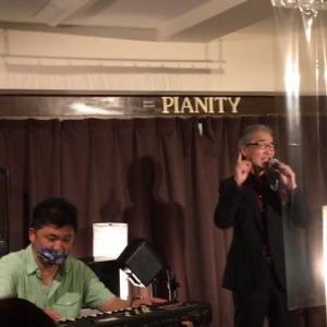 7月16日(木)は、菅野ヒロヤス(vo)さんのライブでした!