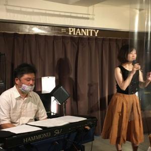 7月19日(日)の午後は、真田麻生(vo)さんのライブでした!