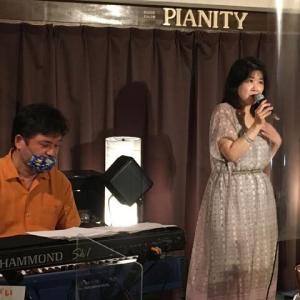 9月12日(土)の午後は、由子(vo)さんのライブでした!