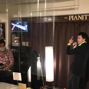 9月13日(土)の夜は、岩渕俊一(vo)さんのライブでした!