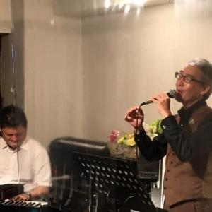 7月8日(木)の夜は、スガチンさんこと、菅野ヒロヤス(vo)さんのライブでした!