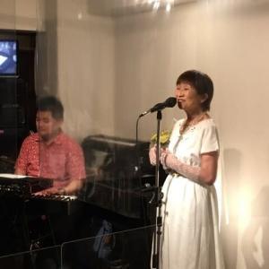7月9日(金)の夜は、松実ちほ(vo)さんのライブでした!