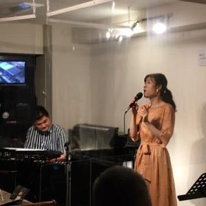 7月11日(日)の午後は、LiLi(vo)さんのライブでした!