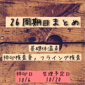 28周期目まとめ【高温期14日目】