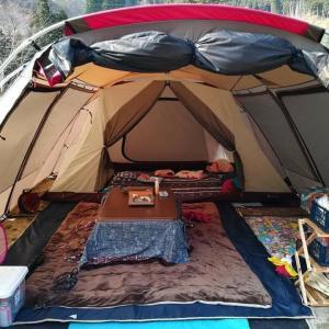 秋冬キャンプの暖房器具
