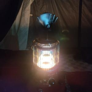 テント内ストーブ使用時の安全管理