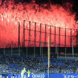 嵐ライブの花火でプロ野球2度中断
