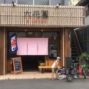 かき氷専門店「六花園」と新しい自転車の日曜日
