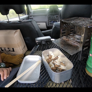 【車中泊】メスティンで自動炊飯を失敗した話