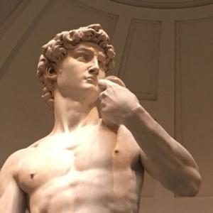 【イタリア旅行6日目】アカデミア美術館のダビデ像はお尻がプリっとしていました