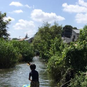 週末は東京で川遊び!夏の終わりを満喫