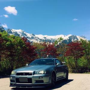 【スカイラインGTRで行く】オススメドライブコース 国道158号線 高山市から松本市 奥飛騨 上高地