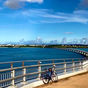 【無料の橋 日本一の長さ 伊良部大橋】宮古島について④ 伊良部大橋ドライブ サイクリング