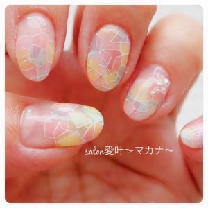 ☆My nail☆ 〜プリズムモザイク♪〜