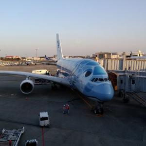 【旅行記】2/21-24 ハワイ ANAビジネスクラスの旅(飛行機編)