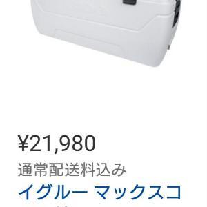 コストコオンラインでバカ売れのイグルーマックスコールド165QTが販売開始した!!