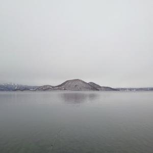 真冬の洞爺湖サクラマス狙い釣行202002①