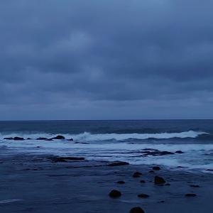 OH!日本海にサクラマス狙いに行ったら海が真っ白だぜ!