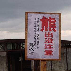 熊出没注意。日本海サクラマス狙い釣行20200409