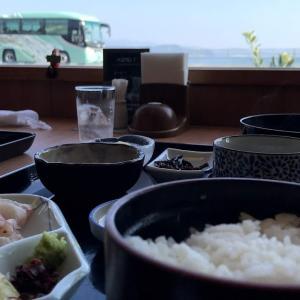 鳴門市でランチに魚料理を食べる