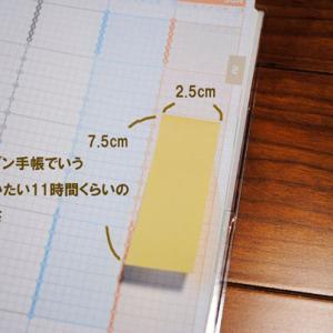 ジブン手帳で大きめの付箋紙の活用法