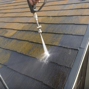 屋根の洗浄について