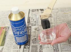 塗料の使い方☆