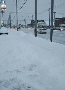 久っさびさの雪!!