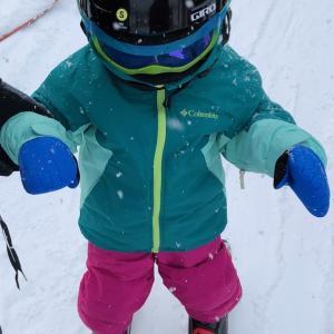 2歳児のスキー初滑りは?