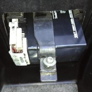 ライブDio バッテリー交換