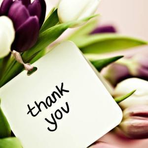 感謝の気持ちは誰に伝えてる?