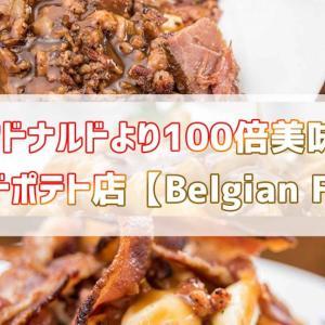 マクドナルドより100倍美味しいフライドポテト店【Belgian Fries】