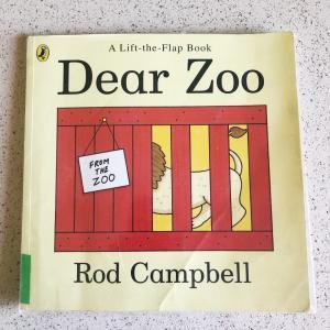 オススメの英語絵本「Dear Zoo」