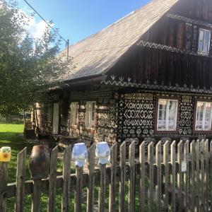 スロバキアのチチマニー村(Čičmany)