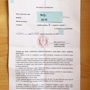 スロバキアで全国民一斉抗原テスト3回目を受けてきました。