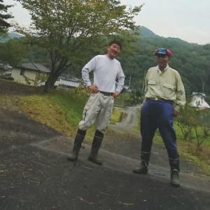 防災訓練~集会所草刈~